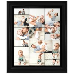 Thumbnail for 20x24 Collage Canvas With Traditional Frame with Custom Color Collage design 1
