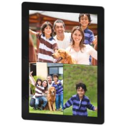 Thumbnail for 3x4 Photo Collage Magnet with Custom Color Collage design 2