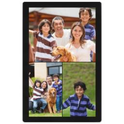 Thumbnail for 4x6 Photo Collage Magnet with Custom Color Collage design 1