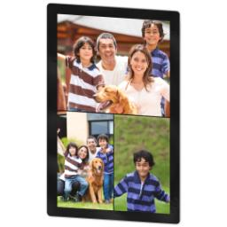 Thumbnail for 4x6 Photo Collage Magnet with Custom Color Collage design 2