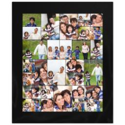 Thumbnail for 50x60 Collage Fleece Blanket with Custom Color Collage design 1