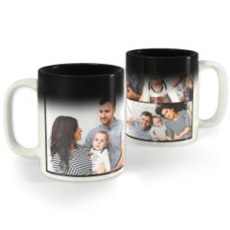 Thumbnail for Collage Magic Photo Mug, 11 oz with Custom Color Collage design 1