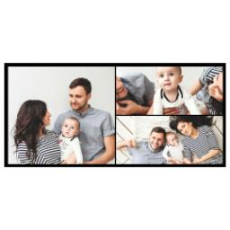 Thumbnail for White Collage Photo Mug, 11oz with Custom Color Collage design 2