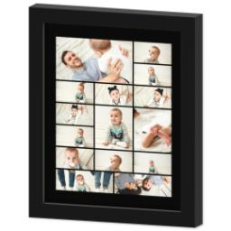 Thumbnail for 8x10 Collage Canvas With Contemporary Frame with Custom Color Collage design 2
