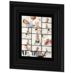 Thumbnail for 8x10 Collage Canvas With Traditional Frame with Custom Color Collage design 2
