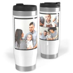 Thumbnail for Premium Collage Tumbler Travel Mug, 14oz with Custom Color Collage design 1