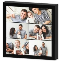 Thumbnail for 8x8 Collage Photo Canvas with Custom Color Collage design 3