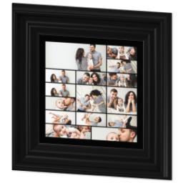 Thumbnail for 8x8 Collage Canvas With Traditional Frame with Custom Color Collage design 2