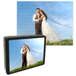 Thumbnail for 10x14 Photo Puzzle With Gift Tin with Full Photo design 1