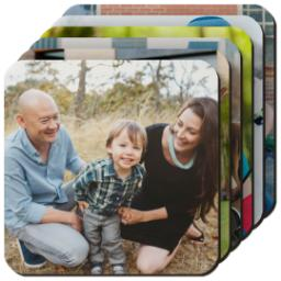 Thumbnail for Photo Coasters, Set Of 6 with Full Photo design 1