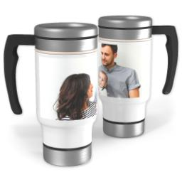 Thumbnail for Travel Mug with Handle with Full Photo design 1