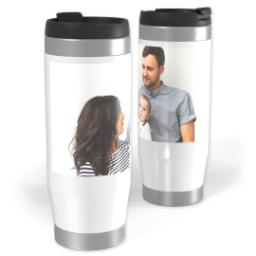 Thumbnail for Premium Tumbler Photo Travel Mug, 14oz with Full Photo design 1