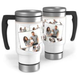 Thumbnail for Stainless Steel Tiled Photo Travel Mug, 14oz with Tiled Photo design 1