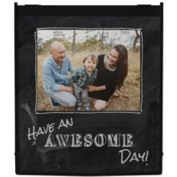Thumbnail for Reusable Grocery Bag with Chalkboard Awesome design 1