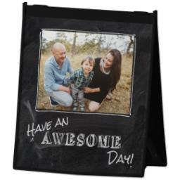 Thumbnail for Reusable Grocery Bag with Chalkboard Awesome design 2
