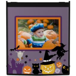 Thumbnail for Reusable Grocery Bag with Halloween Treat design 1