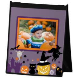 Thumbnail for Reusable Grocery Bag with Halloween Treat design 2
