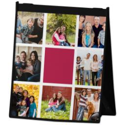 Thumbnail for Reusable Grocery Bag with Photo Block design 2