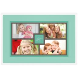 Thumbnail for Photo Placemat with Simple Monogram design 1