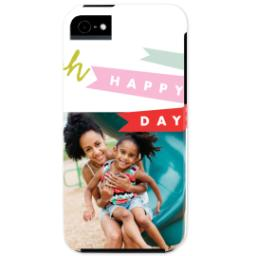 Thumbnail for iPhone 5 Custom Photo Case-Mate Tough Case with Oh Happy Day design 1