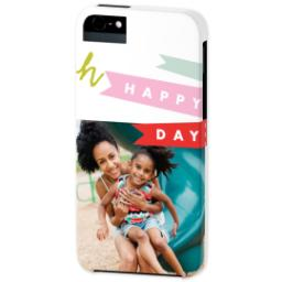 Thumbnail for iPhone 5 Custom Photo Case-Mate Tough Case with Oh Happy Day design 2