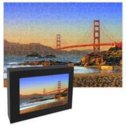 Thumbnail for 11x14 Premium Photo Puzzle With Gift Box with Full Photo design 1
