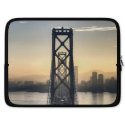 Thumbnail for Photo Laptop Sleeve, Large with Full Photo design 1