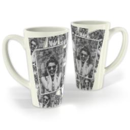 Thumbnail for Latte Photo Mug, 17oz with Tiled Photo design 1
