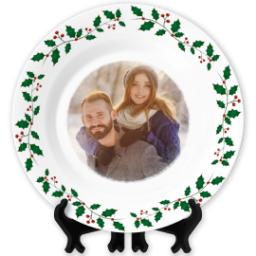 Thumbnail for Christmas Photo Plate with Full Photo design 1