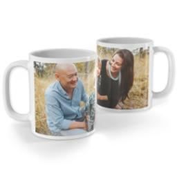 Thumbnail for White Photo Mug, 11oz with Full Photo design 1