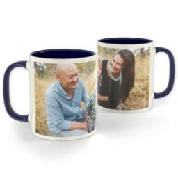 Thumbnail for Blue Photo Mug, 11oz with Full Photo design 1