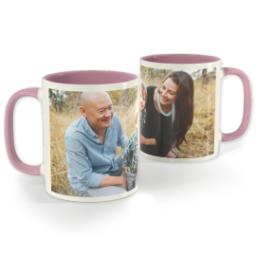 Thumbnail for Pink Photo Mug, 11oz with Full Photo design 1