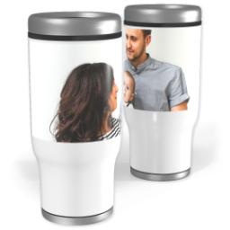 Thumbnail for Stainless Steel Collage Tumbler, 13oz with Full Photo design 1
