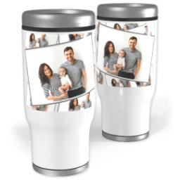 Thumbnail for Stainless Steel Tiled Tumbler, 13oz with Tiled Photo design 1