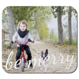 Thumbnail for Mouse Pad with Be Merry design 1