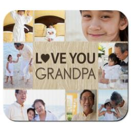 Thumbnail for Mouse Pad with Love you Grandpa design 1