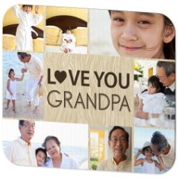 Thumbnail for Mouse Pad with Love you Grandpa design 2