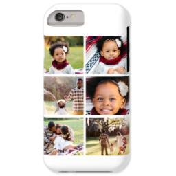 Thumbnail for iPhone 6 Custom Case-Mate Tough Phone Case with Gallery White Collage for 6 design 1