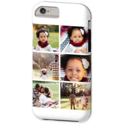 Thumbnail for iPhone 6 Custom Case-Mate Tough Phone Case with Gallery White Collage for 6 design 2