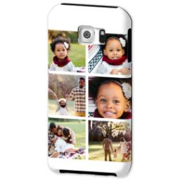 Thumbnail for Samsung Galaxy S6 Tough Case with Gallery White Collage for 6 design 2