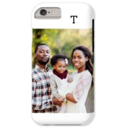 Thumbnail for iPhone 6 Custom Case-Mate Tough Phone Case with Gallery White Monogram design 1