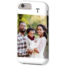 Thumbnail for iPhone 6 Custom Case-Mate Tough Phone Case with Gallery White Monogram design 2