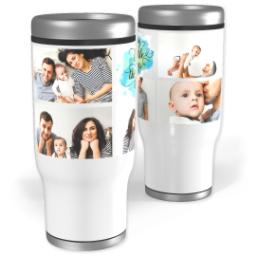 Thumbnail for Stainless Steel Tumbler, 14oz with Enjoy Little Things design 1