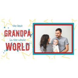 Thumbnail for Premium Tumbler Photo Travel Mug, 14oz with Best Grandpa In The World design 2