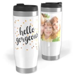 Thumbnail for Premium Tumbler Photo Travel Mug, 14oz with Gorgeous Glitter design 1