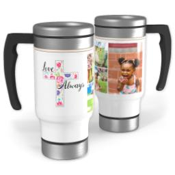 Thumbnail for Stainless Steel Photo Travel Mug, 14oz with Love Always design 1