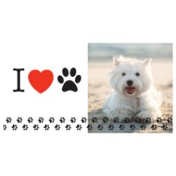 Thumbnail for Premium Tumbler Photo Travel Mug, 14oz with Love Pets design 2