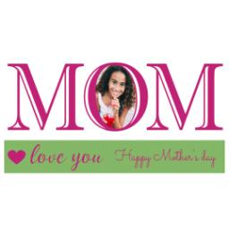 Thumbnail for Premium Tumbler Photo Travel Mug, 14oz with Mom Love You design 2