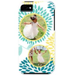 Thumbnail for iPhone 5 Custom Photo Case-Mate Tough Case with Floral design 1