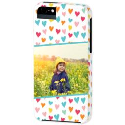 Thumbnail for iPhone 5 Custom Photo Case-Mate Tough Case with Hearts design 2